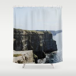 The Cliffs of Moher II Shower Curtain