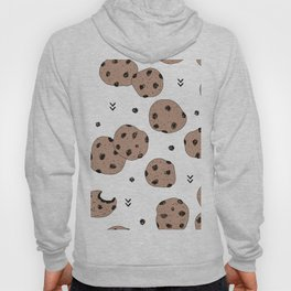 Chocolate chip cookie jar illustration pattern Hoody