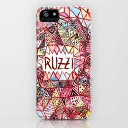 Ruzzi # 001 iPhone Case