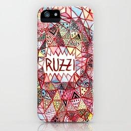 Ruzzi # 001 iPhone Case