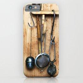 BLUE KITCHEN EQUIPMENT iPhone Case