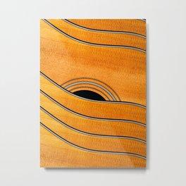 Acoustic Curves No 7 Metal Print