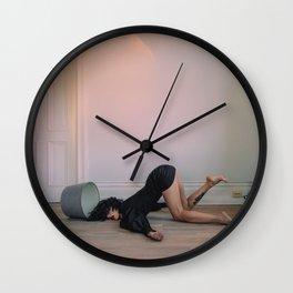 Floor Lamp Wall Clock