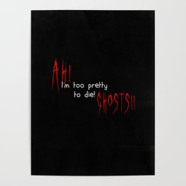 Ah! Ghosts! Poster