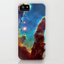 Nebulas — Pillars of Creation, M16 iPhone Case