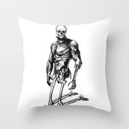 Pietro 2 - Nood Dood Spooky Booty Throw Pillow