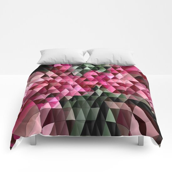 Swirling Colors Comforters