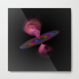 Quasar in the Unicorn Galaxy Metal Print