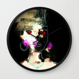 Lady in the Dark Room Wall Clock