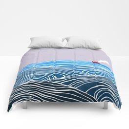 les vagues Comforters