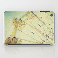 glee iPad Cases featuring Ferris Wheel by Honey Malek