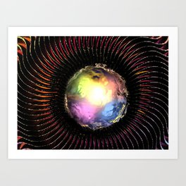 Mystic Illusion Art Print