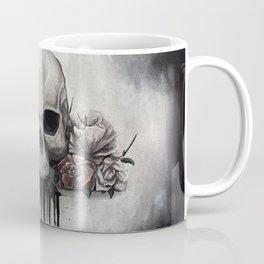 Skull + Roses Coffee Mug