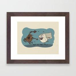 Wedding Smells Framed Art Print