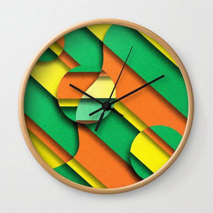 CIRLCES COME IN THREES Wall Clock