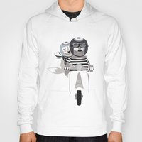vespa Hoodies featuring VESPA by tonadisseny
