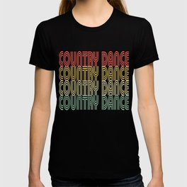 Country Dance Vintage Design T-shirt