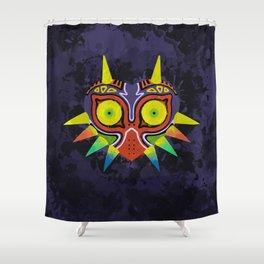 Majora's Mask Splatter Shower Curtain