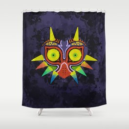 Majora's Mask Splatter Shower Curtain