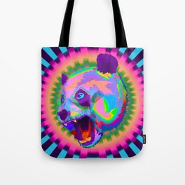 Prismatic Panda  Tote Bag