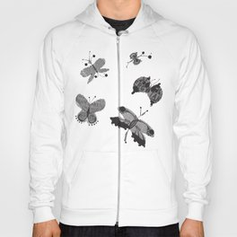 Flutter by Messages Hoody