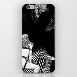 asc 705 - La cavalière Mang (Do you see what I see?) iPhone Skin