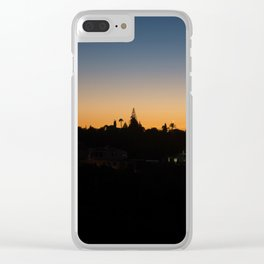 Sunset Portugal Clear iPhone Case