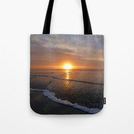 Sun-kissed Sea Tote Bag