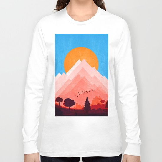 City Landscape Long Sleeve T-shirt
