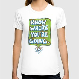 """""""Know Where You're Going"""" Flowerkid T-shirt"""