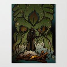Ktulu Rises Canvas Print