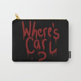 Where's Carl? Carry-All Pouch