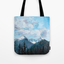 Wedge Mountain Tote Bag