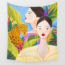 Garden Day Wall Tapestry