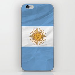 Argentina - South America flags iPhone Skin