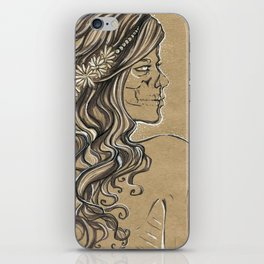 The ghost of bride iPhone Skin