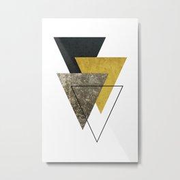 Modern Geometric I Metal Print