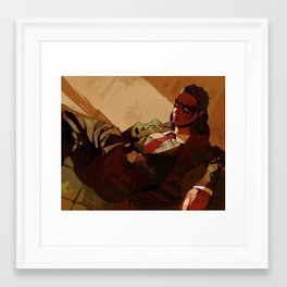 Dapper Lexa Framed Art Print