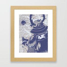 Ukita Hinawa Framed Art Print