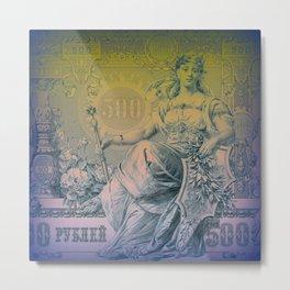 500 Metal Print