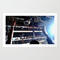deadmau5 Art Prints featuring Deadmau5 - Terminal 5 NYC by detopics