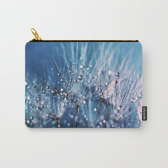Dew on dandelions Carry-All Pouch