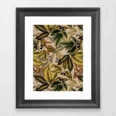 TROPICAL PATTERN-14 Framed Art Print