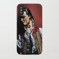 enjolras iPhone & iPod Cases featuring Enjolras by rapunzette