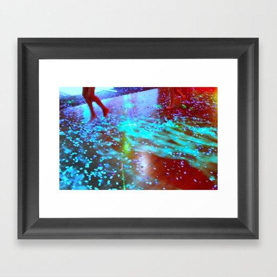 flying! Framed Art Print