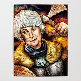 """Picture it: Sicily 1061"" Golden Girls- Bea Arthur Poster"