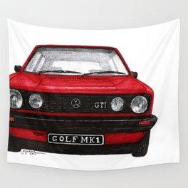Golf Mk1 Wall Tapestry