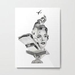 Ambition Metal Print
