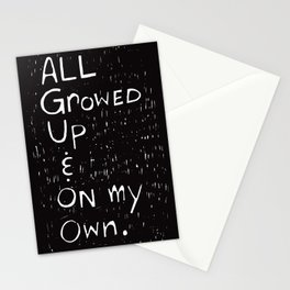 All Growed Up Stationery Cards