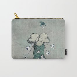 Origami's passion -  a collaboration between Christelle Guilhen and Gwenola de Muralt Carry-All Pouch